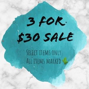 Other - 🌵 3 For $30 Sale! 🌵